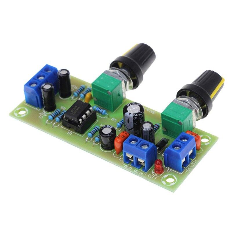 Placa de preamp do subwoofer da placa de filtro da passagem da única fonte da elevada precisão 2.1 canal dc 10-24v 22hz-300hz