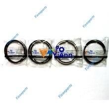 Ensemble de anneaux de Piston pour Kubota V2202   Pièces de réparation de moteur Diesel pour chargeur de moteur Kubota, pelle et tracteur