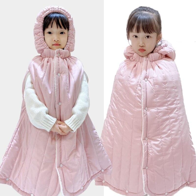 سترة واقية عصرية للأطفال من سن 0 إلى 5 سنوات ، ملابس أطفال للخريف والشتاء ، سترة واقية من الرياح مع غطاء للرأس ، للجنسين