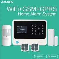 Systeme dalarme de securite domestique intelligent  GSM G90B Plus  wi-fi  Menu multi-langues  controle via application  prix promotionnel