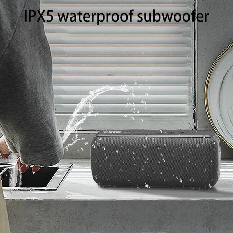 X8 60W Bluetooth Speaker Super Bass Column Full Range Stereo Boombox Big Power Portable Subwoofer IPx5 Waterproof Soundbar enlarge