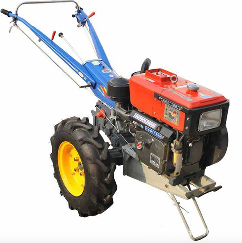 Domestic walking tractor 8 horsepower small walking tractor two wheel tractor diesel self-propelled tractor