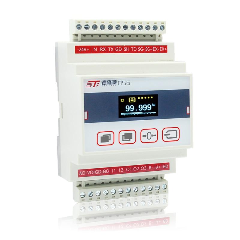 مقياس قوة الوزن ، جهاز التحكم في التشغيل الآلي للعرض ، دقة عالية ، خلية تحميل اتصالات PLC