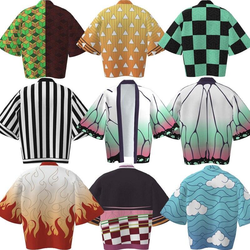 Men Casual Kimono Bathrobe Autumn Winter Anime Warm Sleepwear Plus Nightgown Male Loose Cartoon Home Wear