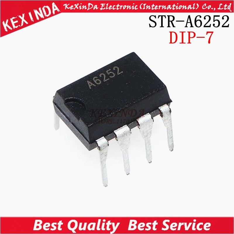STR-A6252 STRA6252 A6252 DIP-7 50 unids/lote envío gratis