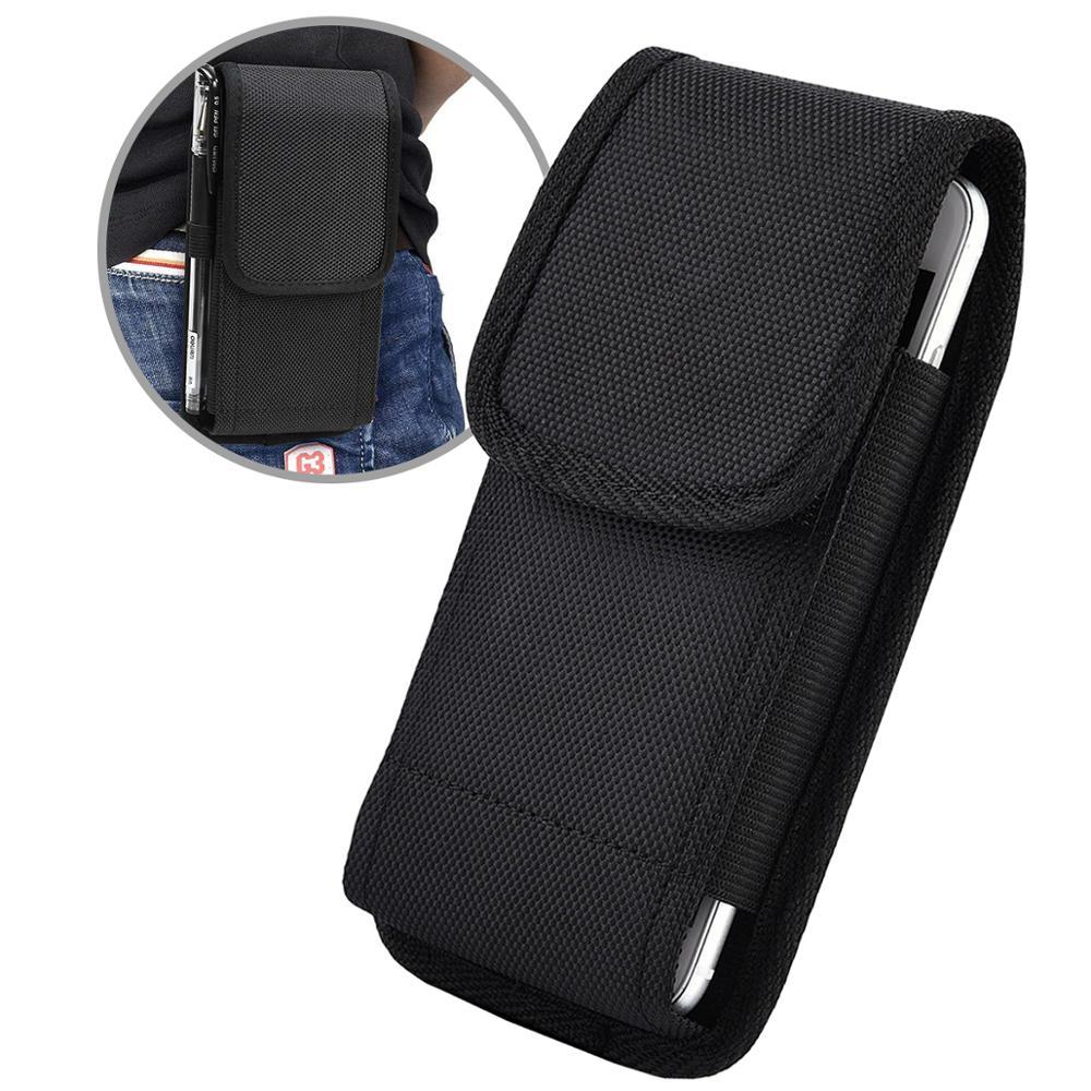 Funda para teléfono con Clip para cinturón, funda para Sony Xperia 10 II, funda para Sony Xperia L4 con soporte Universal para bolígrafo, funda anticaídas