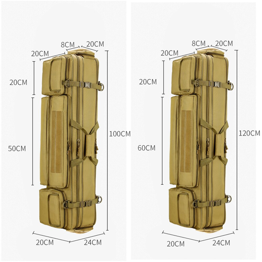 120CM Fishing Rod Bag Gun Holster Tactical Outdoor Backpack Fishing Pole Tools Storage Gear Accessories Handbags Army Bag XA277A enlarge