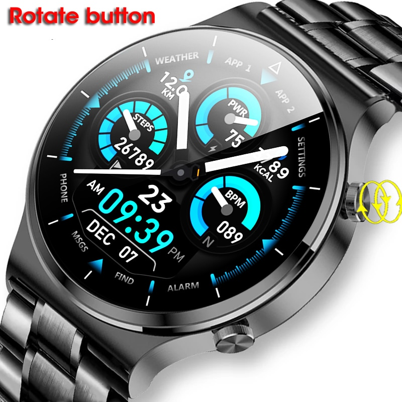 Timewolf Smart Watch Men 2021 Android IP68 Ecg Ppg Oxygen Smartwatch Man Answer Call Smart Watch For Men Women Android IOS Phone