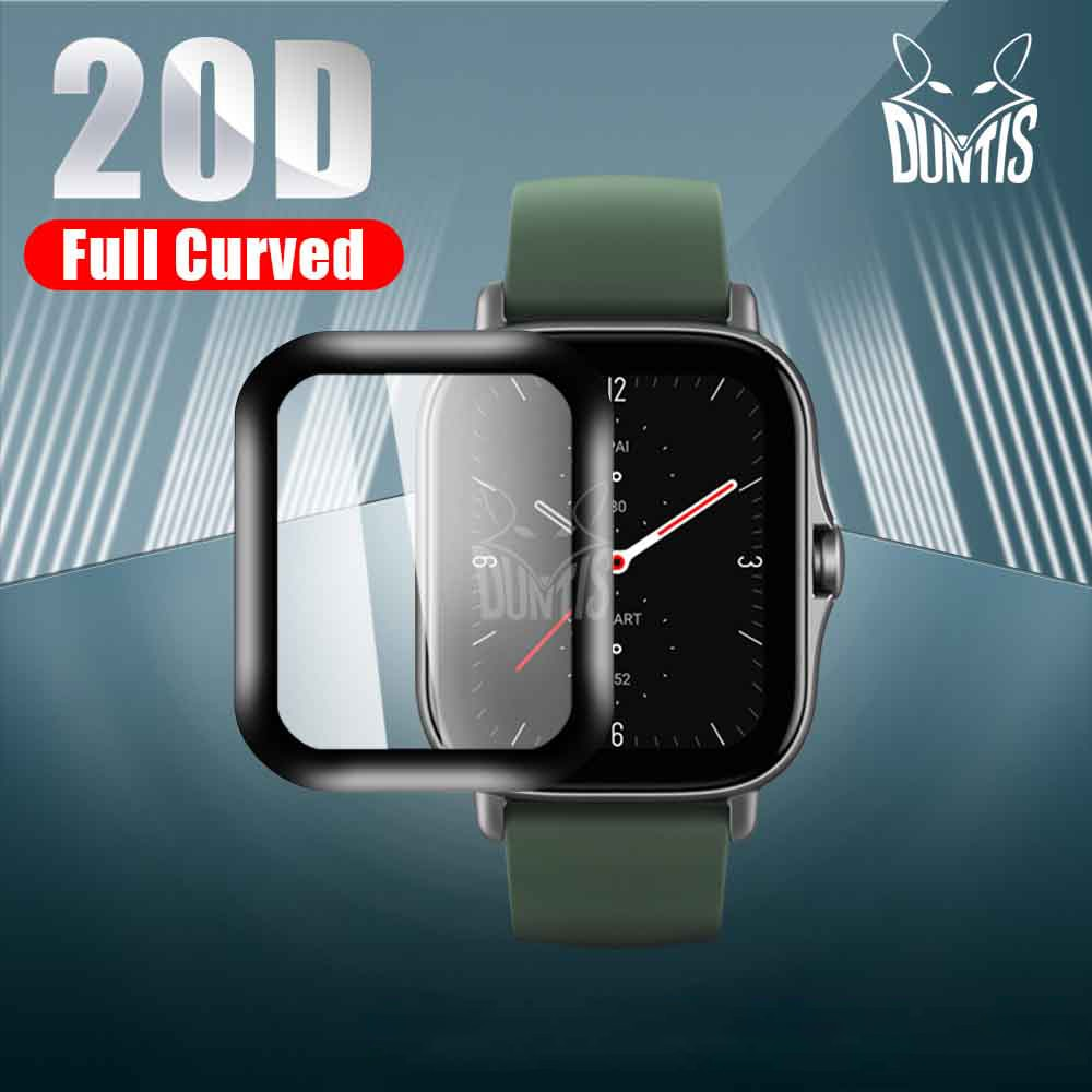 20D Curved Edge Protective film for Amazfit GTS 2 Mini 2e 2 soft screen protector accessories (Not Glass)