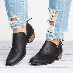 Женские демисезонные ботинки челси с бантом-бабочкой, женские ботинки без шнуровки на среднем каблуке, короткие ботинки, женская обувь с острым носком, 2021