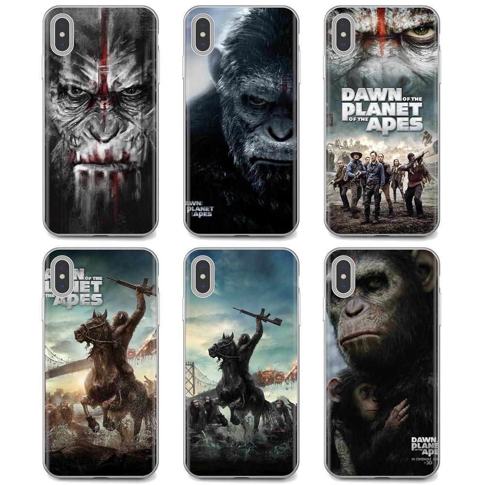El amanecer del planeta de los simios película para Motorola Moto G G2 G3 X4 E4 E5 G5 G5S G6 Z Z2 Z3 C Play Plus Soft Cover
