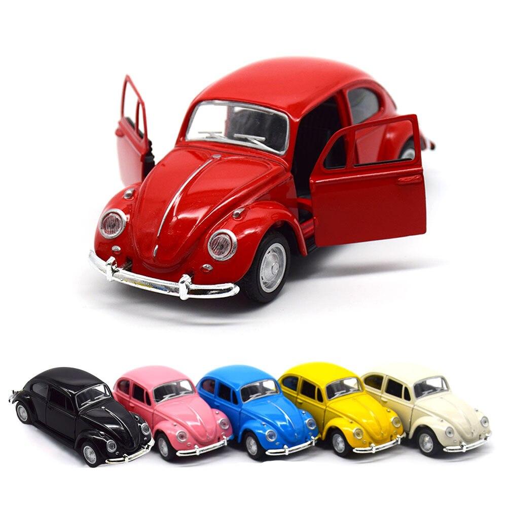 Beetle классический брелок для автомобильных ключей, модели имитационная модель тянуть обратно металлические игрушки модель автомобиля для у...