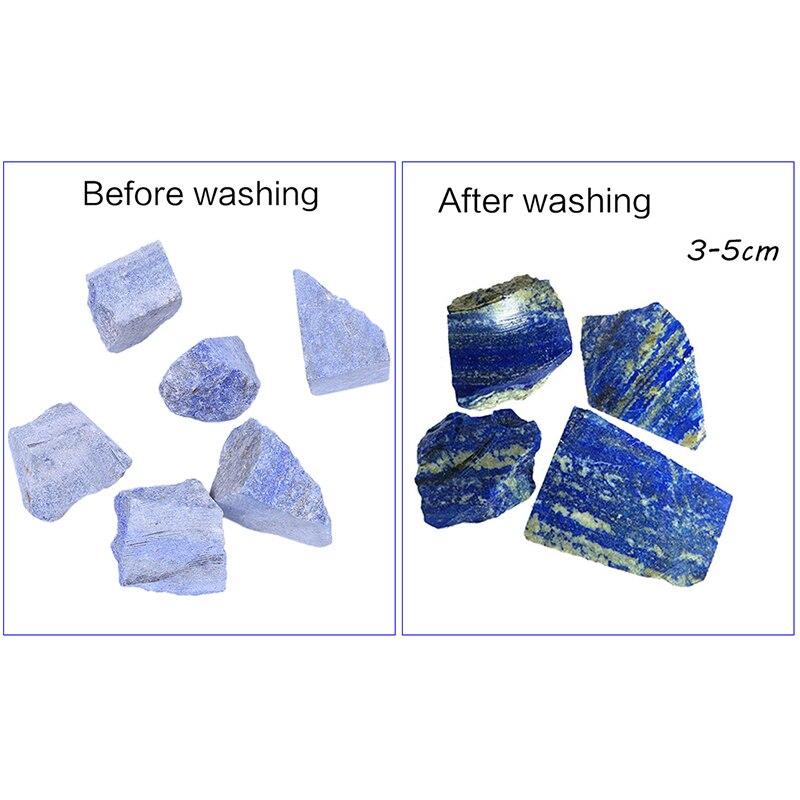 ¡100G hogar Natural lapislázuli materia prima jardín artículos decorativos Piedra Natural lapislázuli nuevo!