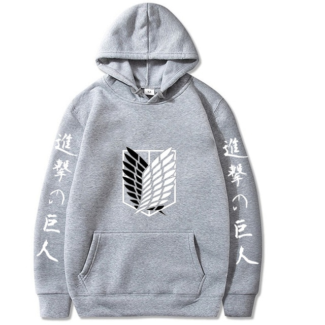 NEW Attack on Titan Hip Hop Hoodie 6