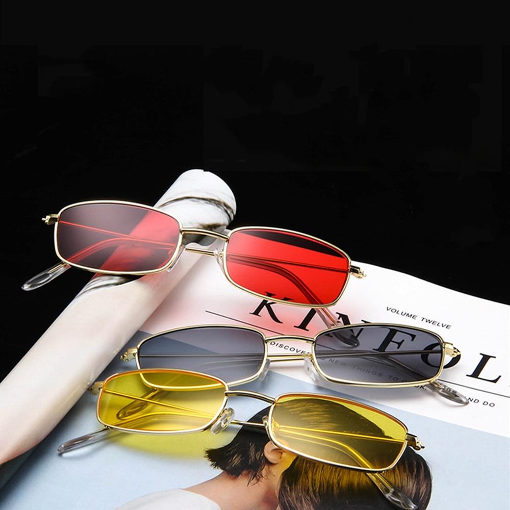 Vintage Sunglasses Square Shield Sunglasses Women Luxury Fashion Sunglasses Sunprotection Eyewear Ho