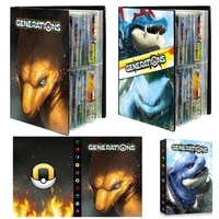 Pokemon Card Pokemon Cards Binder Collection Album Book Toy Card Protection Handbook for Pokemon Ex Vmax 30 Page Hold 240pcs
