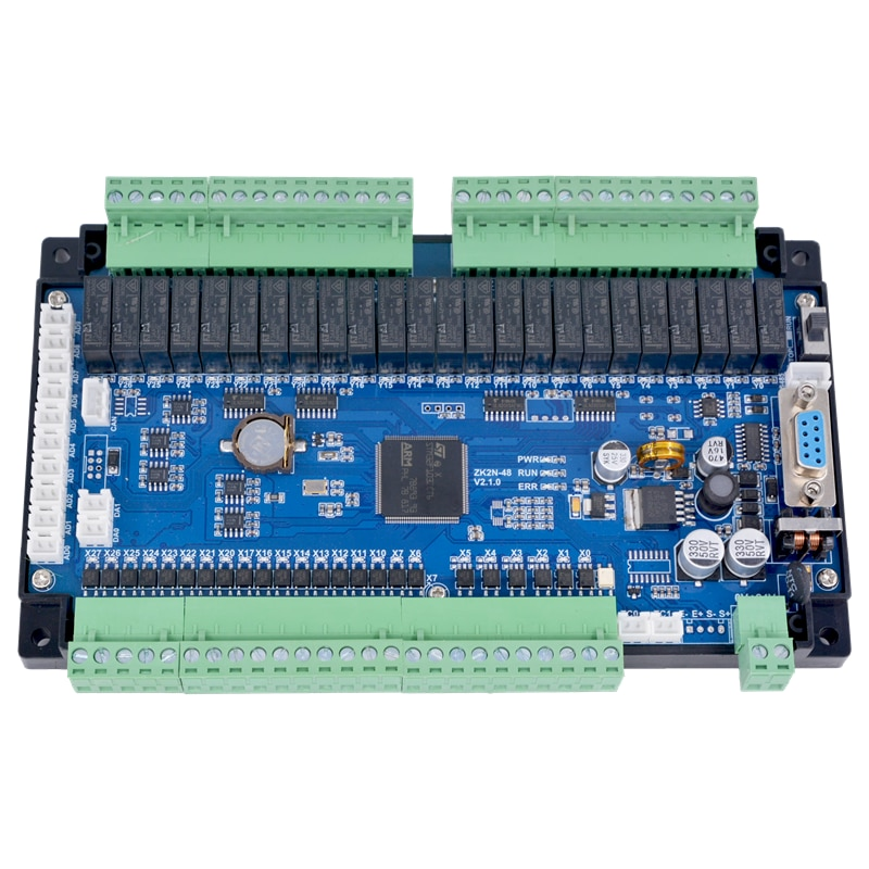 PLC التحكم الصناعي مجلس متوافق مع FX2N-14MR / MT 32 48MRT 4-محور درجة الحرارة وزنها التناظرية