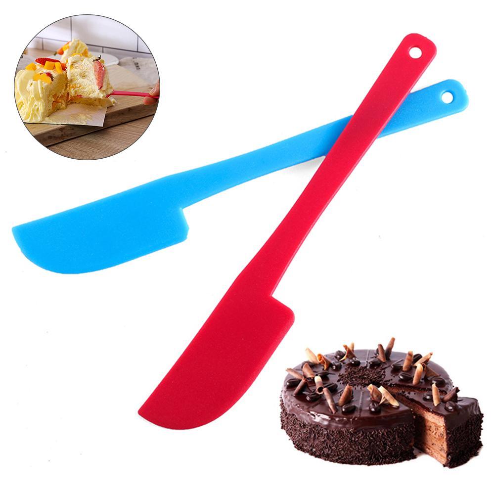 Plastic Cream Butter Cake Spatula Mixing Batter Scraper Knife Brush Baking Tool The multi-purpose plastic spatula