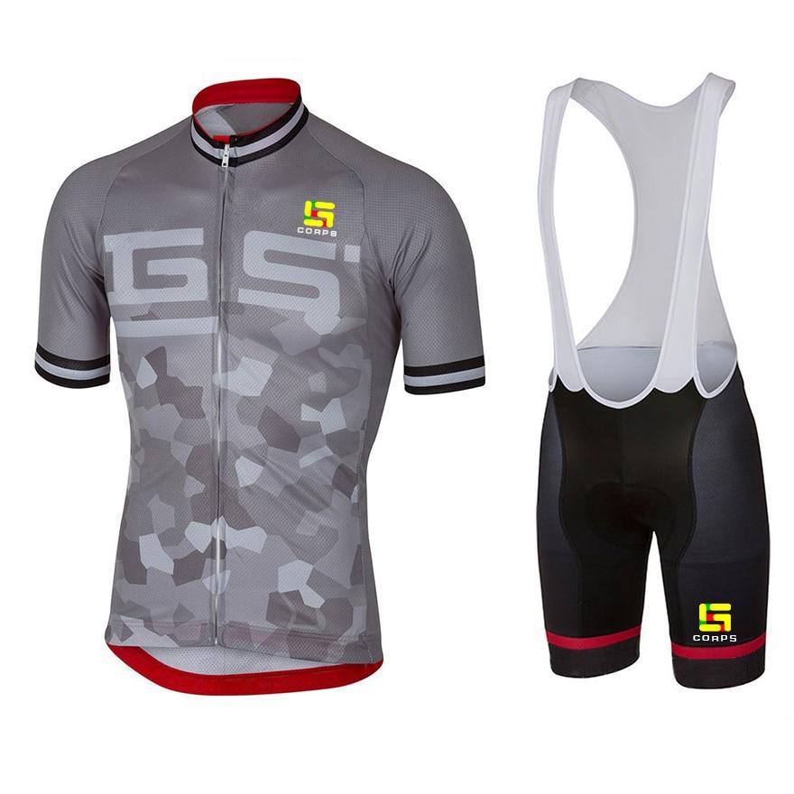 Conjunto de Jersey de Ciclismo de manga corta, Maillot de bicicleta de...