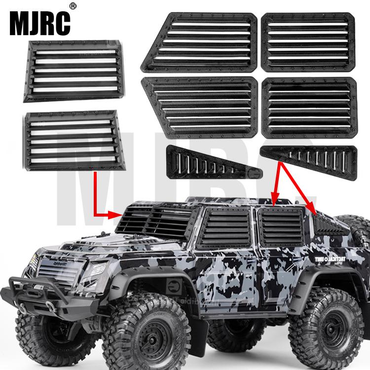 TRAXXAS TRX-4 Tactical Unit Defensive Sideguard Kit 3D Printing Side Window Armor Front Windshield Defense Bezel 82066-4 TRX4