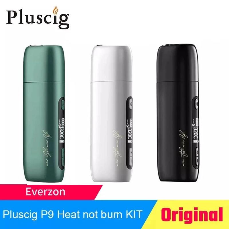 Pluscig P9 Heat Not Burn Vape Kit 3500mah Battery with LED Display Vaporizer Vape Pen mod electronic