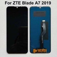 Orijinal yeni ZTE Blade A7 2019 2019RU P963F02 ZTE Blade A7 A7S başbakan 2020 LCD ekran ile dokunmatik ekran Digitizer sensörü