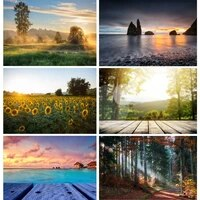natural scenery photography background flower forest river travel photo backdrops studio props 21813 fjh 03
