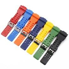 Sport uhr strap für g schock smart watch armband für casio harz uhr band für casio g-shock watch gürtel armband correa de
