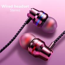 MEUYAG Wired Earbuds Headphones 3.5mm In Ear Earphone Sport Earpiece With Mic Bass Stereo Headset Fo