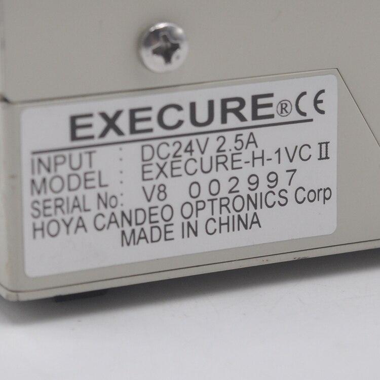 Japan HOYA HOYA-UV curing light source fiber optic EXECURE-H-1VC II with 2 lights enlarge