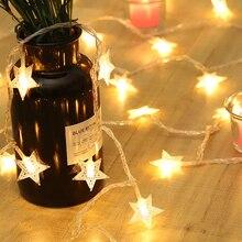 Guirnalda de luces LED de 1,5 m a 5m, guirnalda de luces led para exteriores, fiesta de cumpleaños, boda, luz de Decoración LED para decoración de ventanas del hogar, suministros festivos
