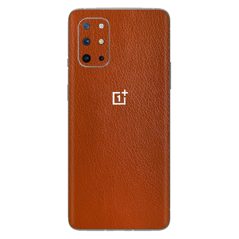 Luxury DIY Leather Skin Sticker Wrap Skin Phone Back Paste Film For OnePlus 8 Pro 1+8T OnePlus 7T Pr