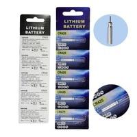 5 шт./лот, перезаряжаемая батарея CR425, USB зарядное устройство для электронной рыбалки, поплавок, батареи, аксессуары для ночной рыбалки, снаст...