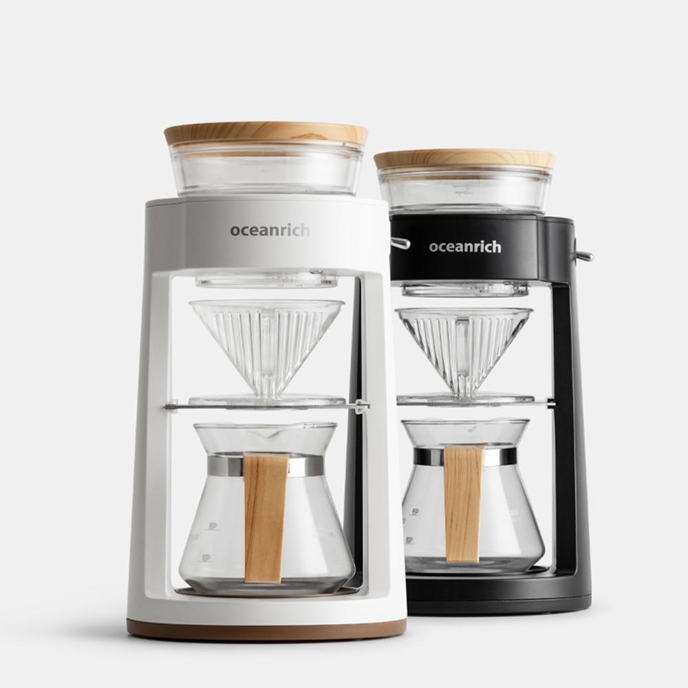 Автоматическая кофеварка Oceanrich, кофемашина капельного типа для дома и офиса, 2 цвета