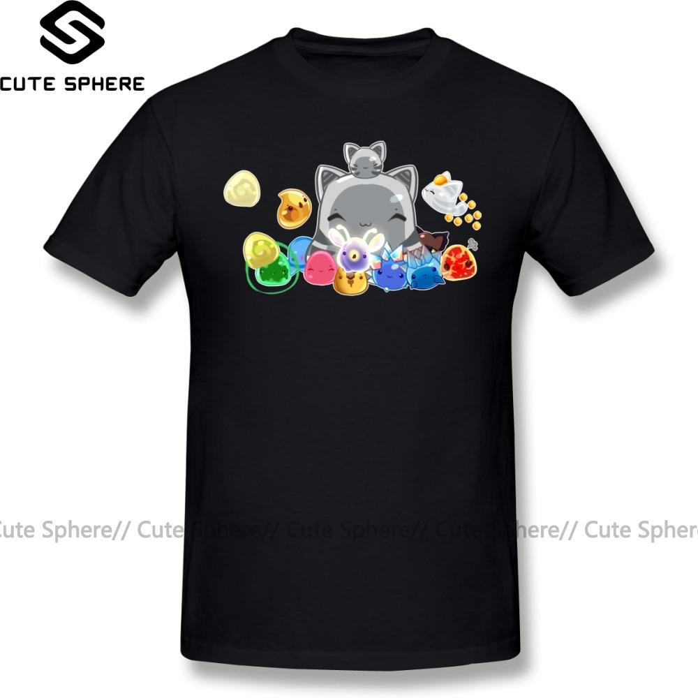 Camiseta Slime Rancher, camiseta coleccionable Slime, camiseta bonita de manga corta, camiseta 100 de algodón de talla grande para playa, camiseta gráfica para hombre