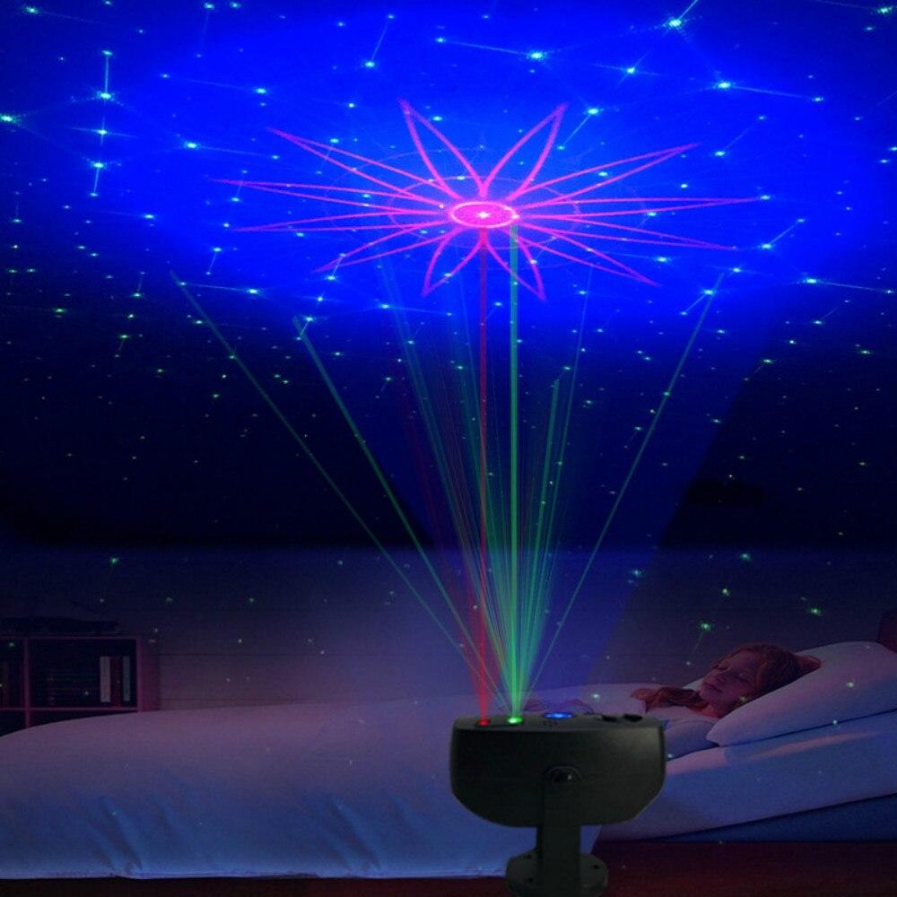 جديد ستار ليلة ضوء السماء العارض ليلة مصباح RGB العارض مصابيح حفلات Led مصباح ملون أجواء غرفة نوم بجانب مصباح