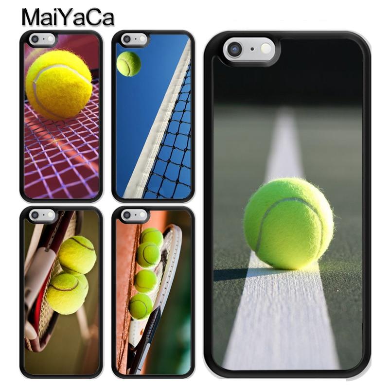 Pelota de tenis movimiento TPU caso para iPhone 11 Pro MAX X XR XS MAX SE 2020 6 7 8 Plus 5s cubierta Coque