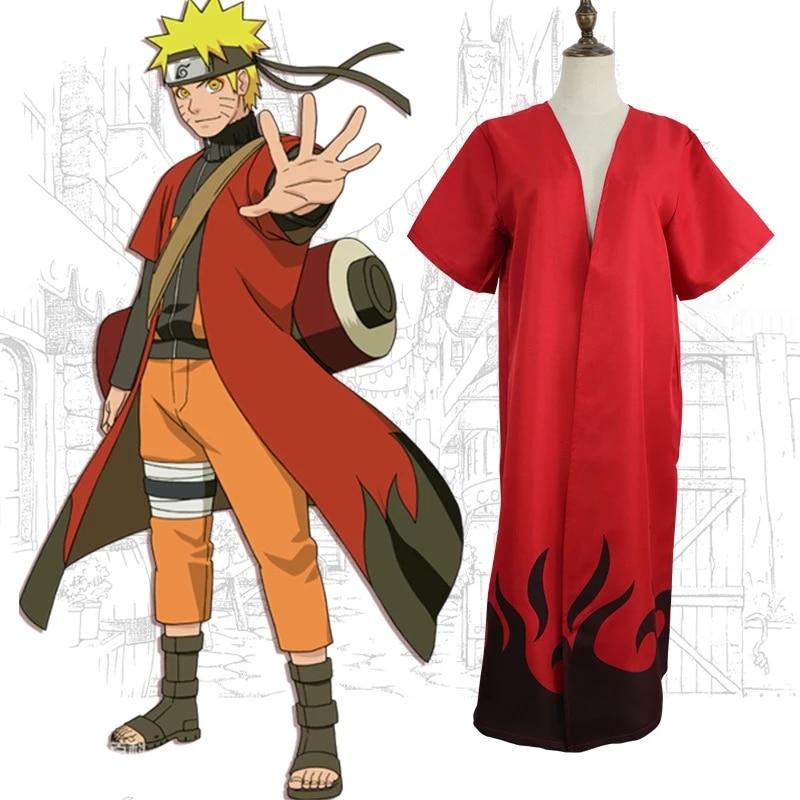 Disfraz de Anime Ninja Uzumaki de disfraz de Halloween capa de mujer...