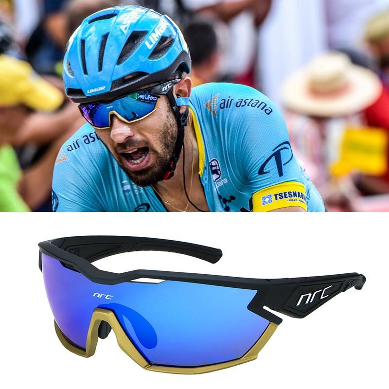 2021 NRC P-Ride Photochromic Cycling Glasses man Mountain Bike Bicycle Sport Cycling Sunglasses MTB