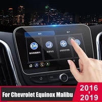 for chevrolet equinox malibu xl 2016 2019 tempered glass car navigation screen protector touch display screen film anti scratch