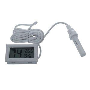 Mini Digital LCD Thermometer Hygrometer Humidity Temperature Meter Probe