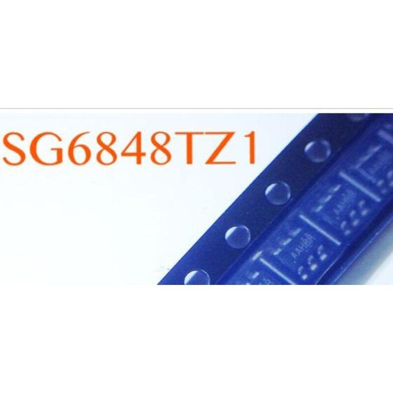 50 teile/los SG6848TZ1 SG6848 SG6848T ) SOT-23-6 MODUL neue auf lager