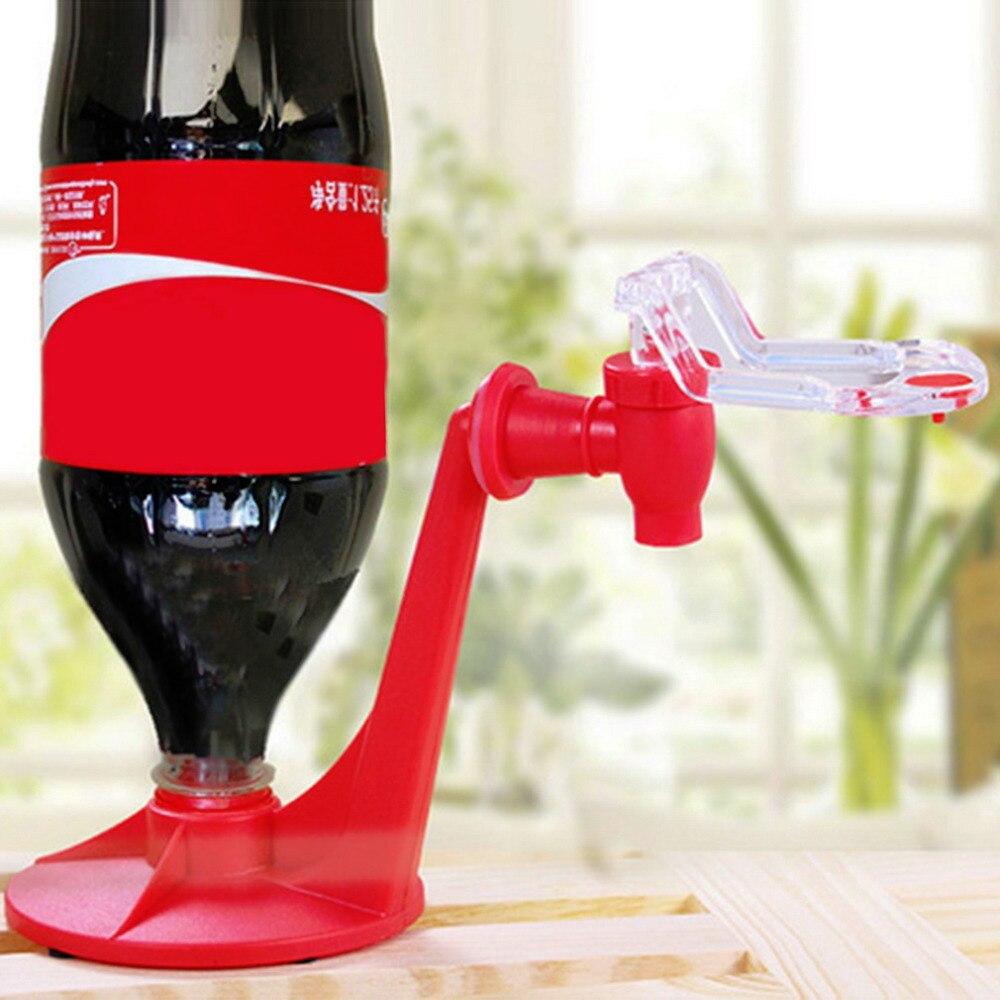 Диспенсер для соды, Волшебная бутылка для экономии Кока, перевернутая питьевая вода, вечерние гаджеты для бара, кухни, машины для напитков