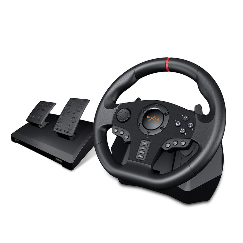 PXN V900 Gamepad Controller Gaming Steering Wheel 900° Racing Video Game Vibration For PC/PS3/4/Xbox-One/Xbox 360/N-Switc