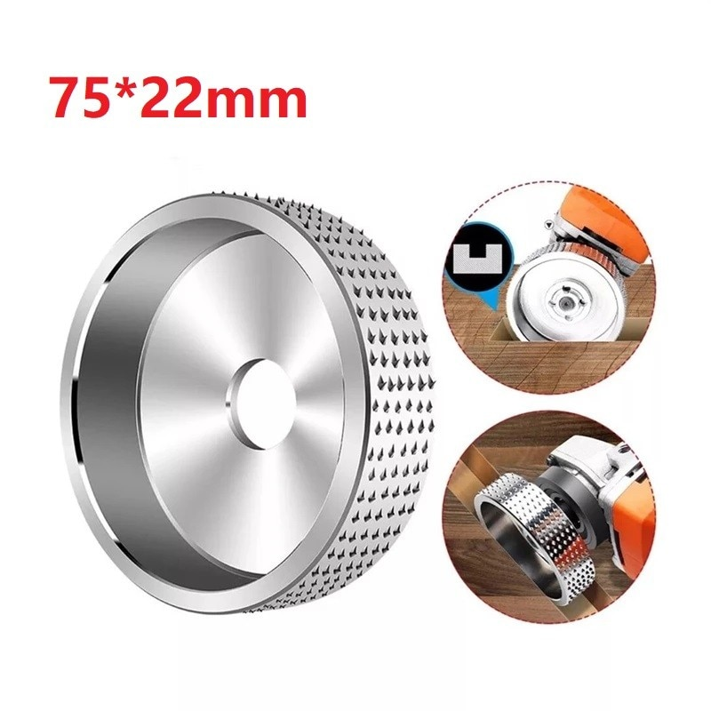 75x22 мм шлифовальный диск для резьбы по дереву угловой круг абразивный вращающийся шлифовальной машины шлифов...