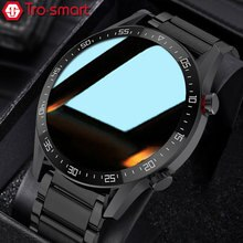 Dial Call Smart Watch Men Male Smartwatch Electronics Smart Clock For Android IOS Fitness Tracker To
