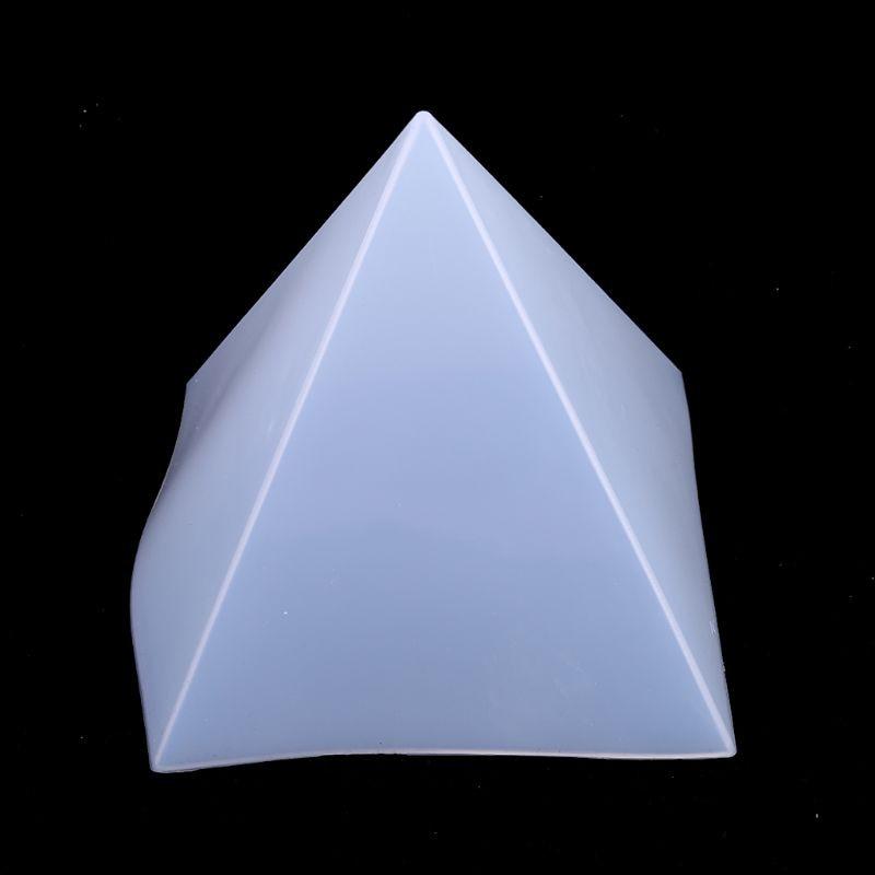 Moldes grandes de resina, moldes piramidales de resina lets, moldes de silicona de resina para Pirámide de orgonita orgona DIY, joyería orgonita, ideal para