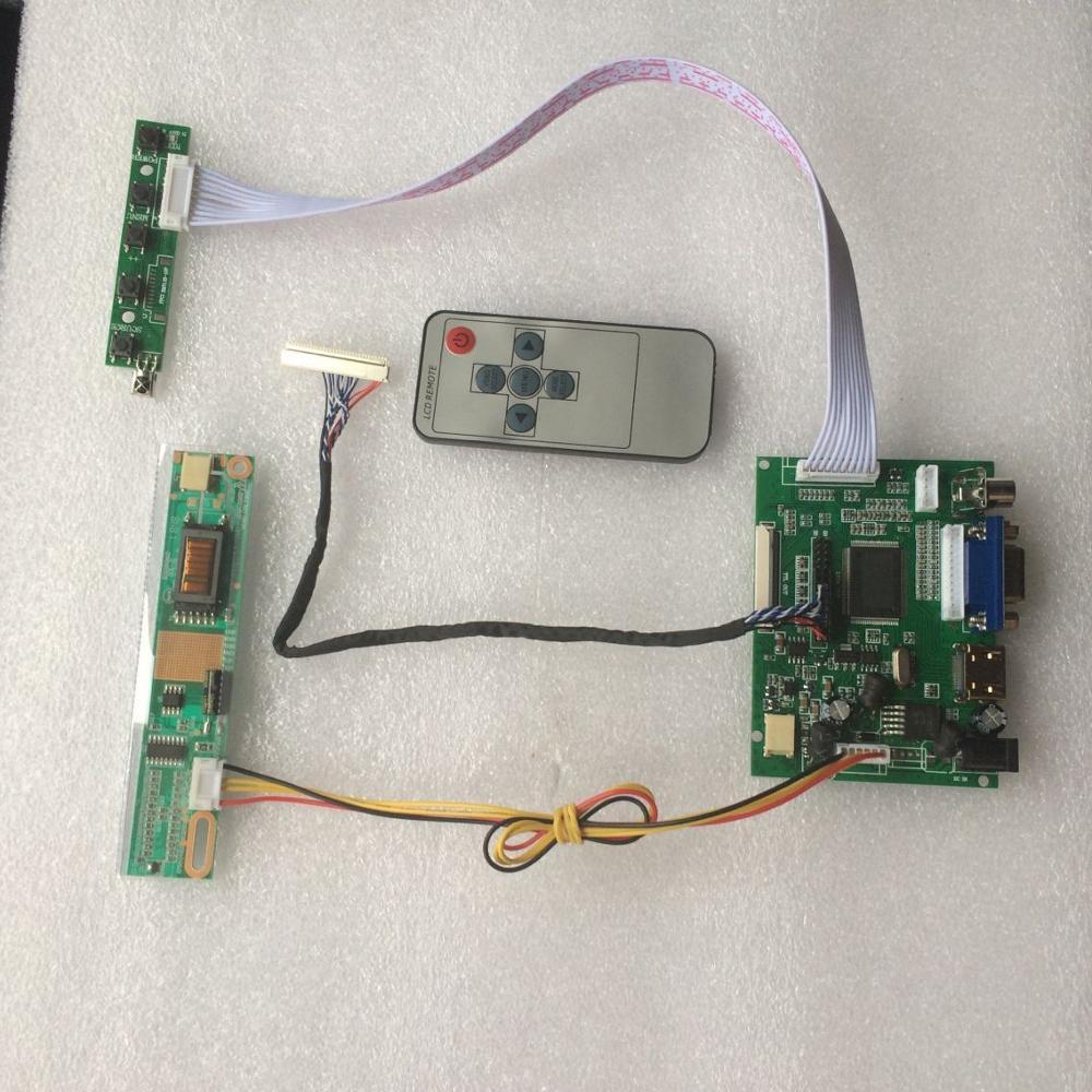 For LP156WH1-TLA1/TLA2  Controller kit 1366X768 LED panel Screen HDMI VGA 2AV LCD DIY  Main Board