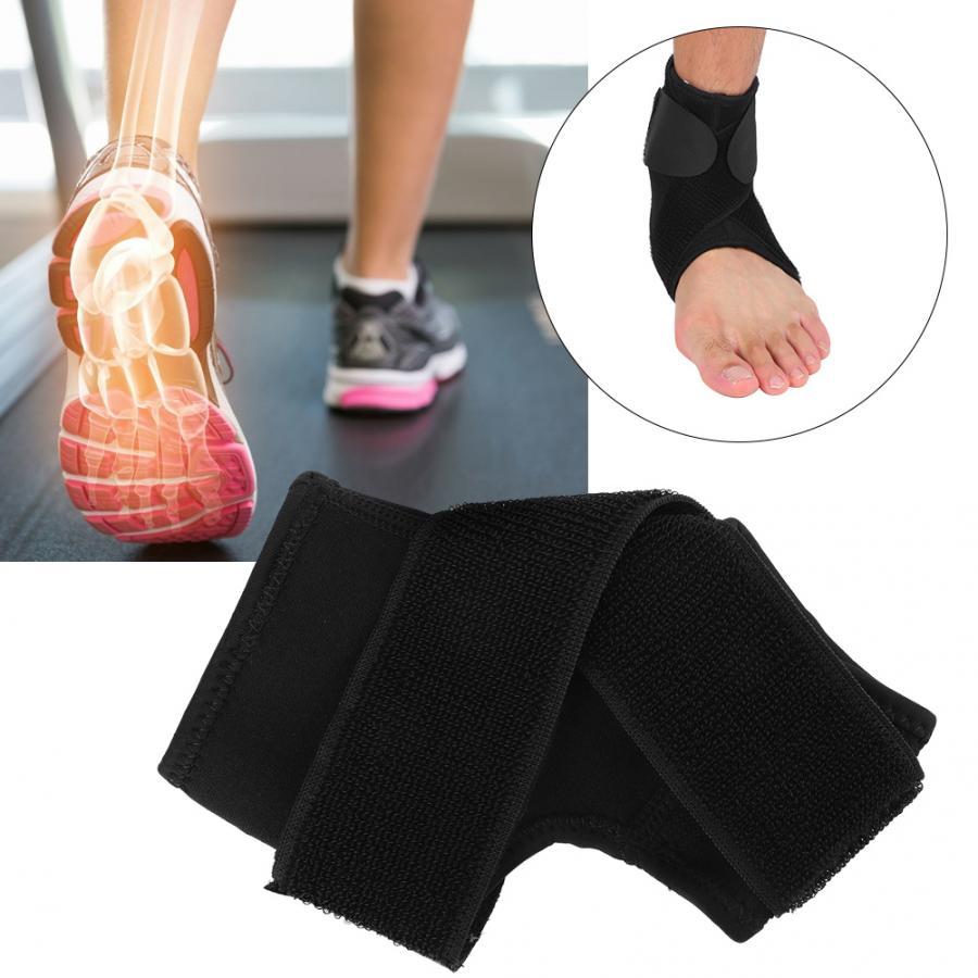 Soporte de espalda soporte de tobillo suave estabilizador esguince fractura recuperación pie articulación del tobillo Protector terapia