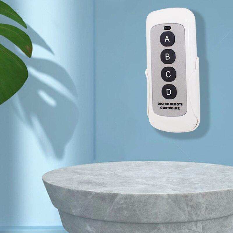 Управляемая версия, клон ворот гаража, пульт дистанционного управления с фиксированным кодом 433 МГц, передатчик может быть закреплен на стене
